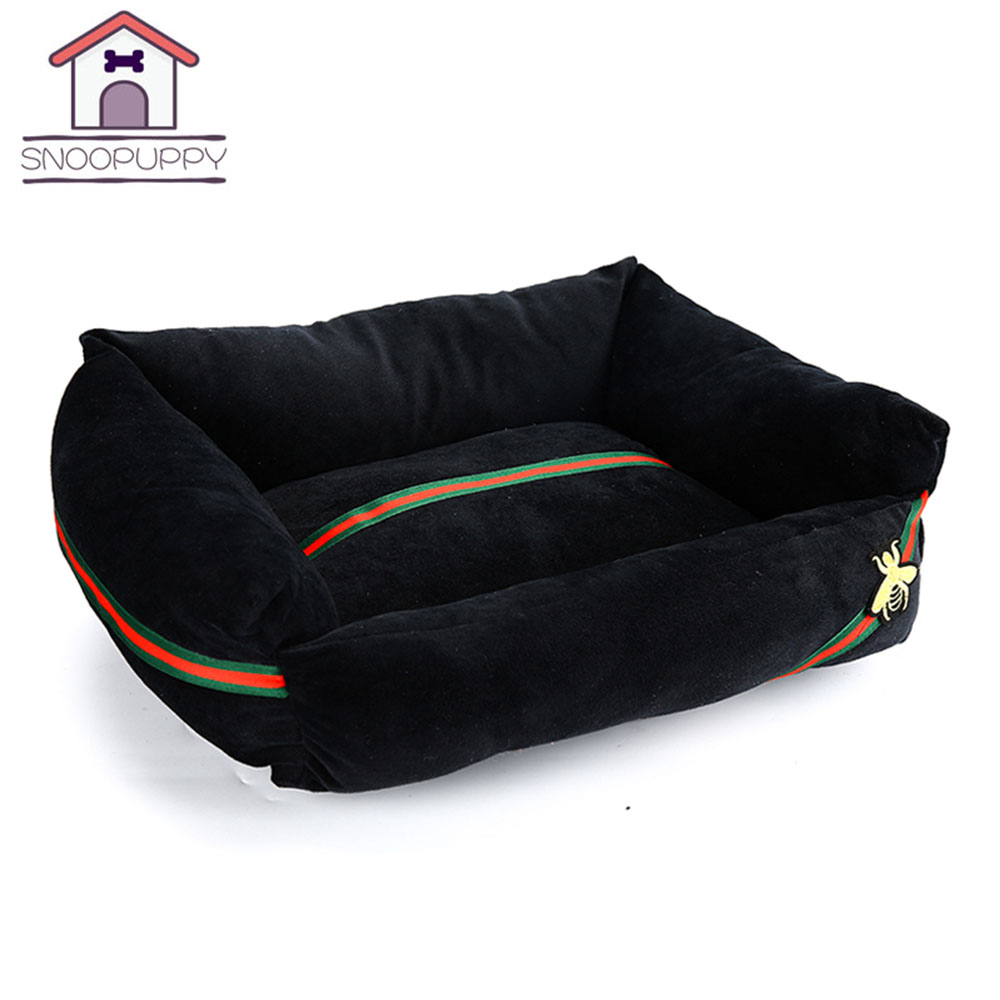 Dog Beds Sofas All Seasons Dogs Bed For Pet Sleep And Rest Soft PP Cotton Breathable Pet Beds Kennel Bottom Anti-Slip XR0001