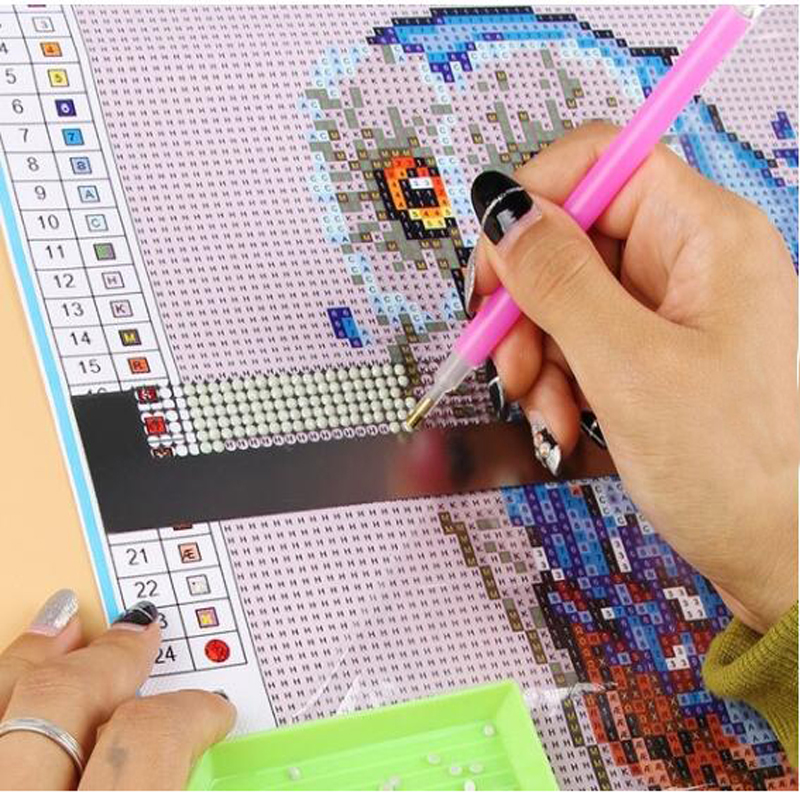 NEW Diamond Drawing Ruler Dot Drill Tool Magic Diamond Embroidery Mesh Ruler Stitch Sewing Tools Accessories(China)