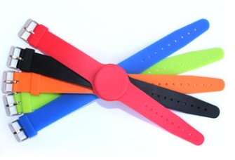 100pcs 125Khz RFID t5577 Waterproof Proximity Rewritable Smart Adjustable Wristband Bracelet ID Card