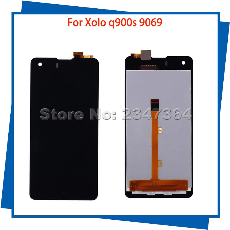 For Xolo q900s 9069 LCD Display Touch Screen Black Color Mobile Phone LCDs