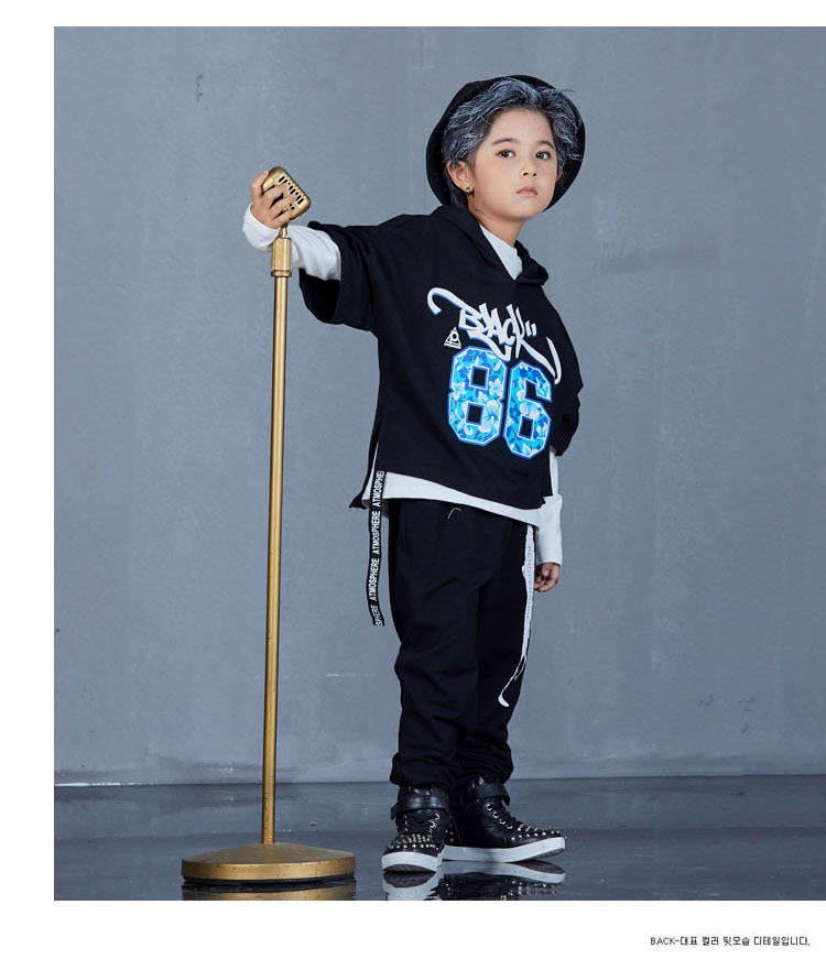 boys hip hop clothing set 1073-7
