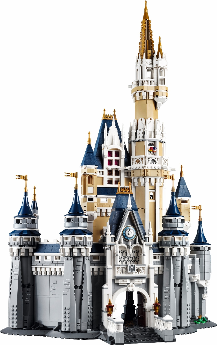 LEPIN4080pcs 16008 Creator series the Cinderella Princess Castle Model Building Block compatible 71040 classic Toys for children lepin 16008 4160pcs cinderella princess castle city model building block kid educational toys for gift compatible legoed 71040