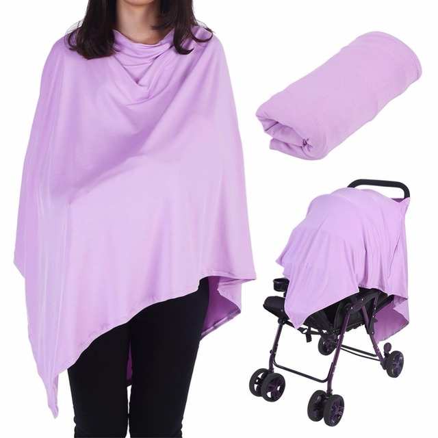 2018 New Maternity Breastfeeding Cover 5 Color Nursing Covers Solid Shawl Breast Feeding Nursing Covers Baby Feeding Care Cover