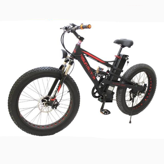Custom 48 <font><b>v</b></font>, <font><b>1000</b></font> <font><b>w</b></font>, 750 <font><b>w</b></font> 8fun motor power electric bike snow mountain bike Fat Electric Bike+21AH Li-ion Battery image