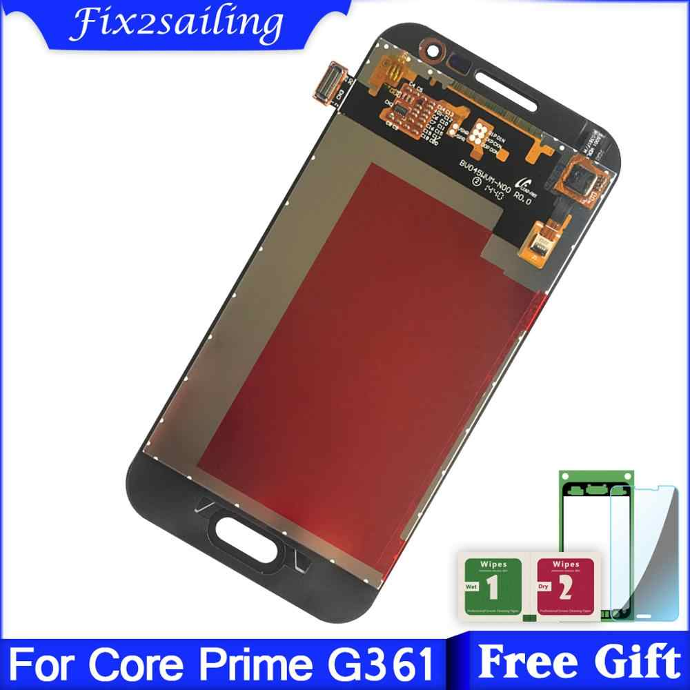 For Samsung Galaxy Core Prime G361 G361H G361F Touch Screen Digitizer + LCD Display Monitor Panel Module Assembly