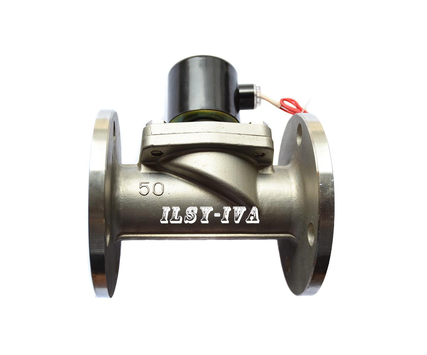 G2 с подкладкой сжиженного газа из нержавеющей стали нормально закрытый фланец электромагнитный клапан
