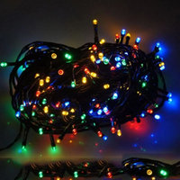 Solar Power 22M 200 LED Fairy String Light 9 Colors Waterproof Garden Party Xmas Holiday Lamp