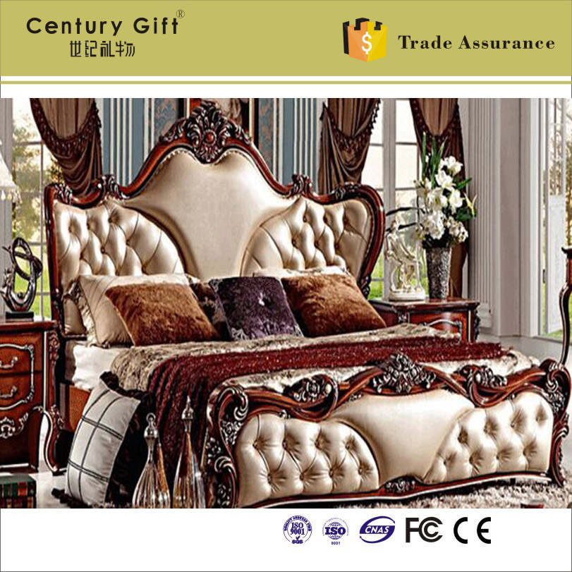 Antique European Style Bed Nightstand American Classic Bedroom Full Set In Beds From Furniture On Aliexpress