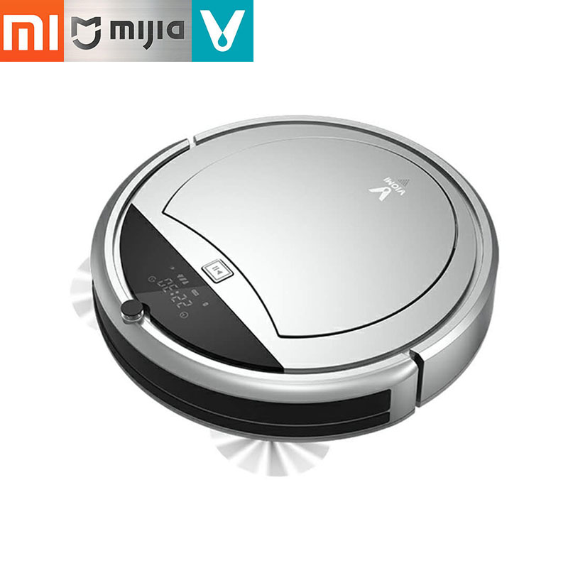 2018 Xiaomi Viomi Robot Vacuum Cleaner for Home Automatic Sweeping Dust Smart Planned with App Remote