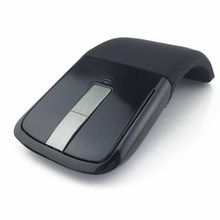 2.4Ghz Foldable Wireless Mouse Folding Arc Touch Slim Mouse Computer Gaming Mouse Mice for Microsoft Surface PC Laptop