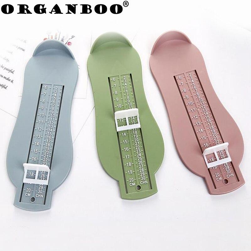 ORGANBOO 1 ST thuis gadgets kinderen baby kopen schoenen voet apparaat aankoop nauwkeurige meting voet lange instrument