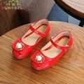 2017 nova primavera do bebê meninas casual shoes crianças pérola de couro de patente shoes crianças princesa partido flats shoes c300