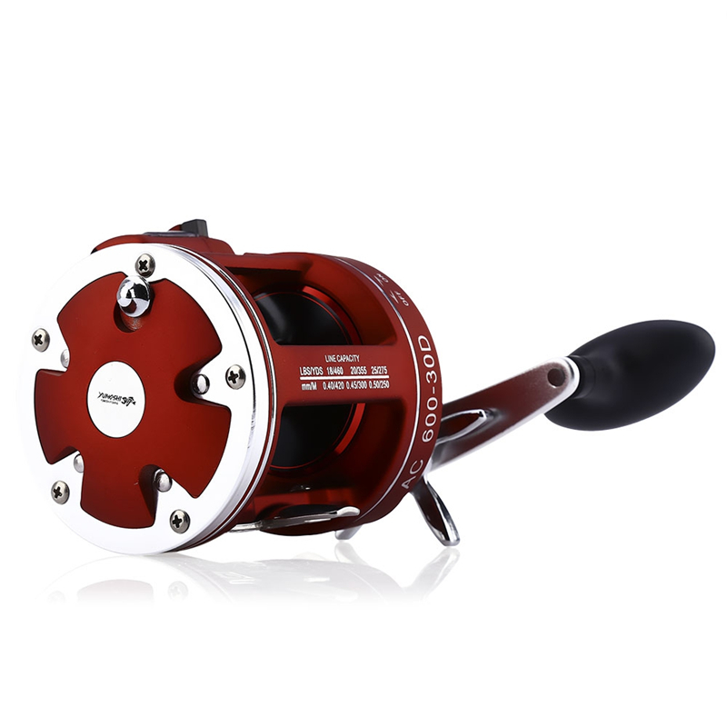 Lure Fishing Reel Super Strong Tornado Drum Reel 12Ball - Halászat