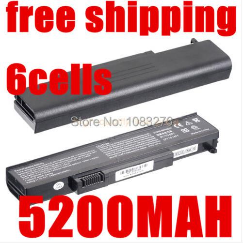 5200 mAH batería del ordenador portátil para Gateway SQU-715, SQU-719, SQU-721, AB170, 6 8MSBG W35044LB W35044LB-SP W35044LB-SY W35052LB M151, 916C6250