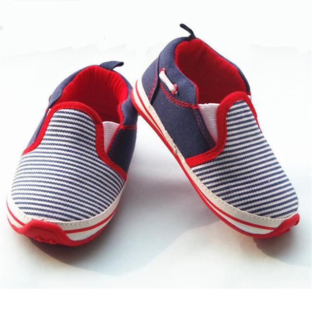 Детские холст резиновой обуви малышей мальчики non-slip гетры женщины-де-спорт bebes для лето осень впервые ходоки 13 см 14 см 15 см