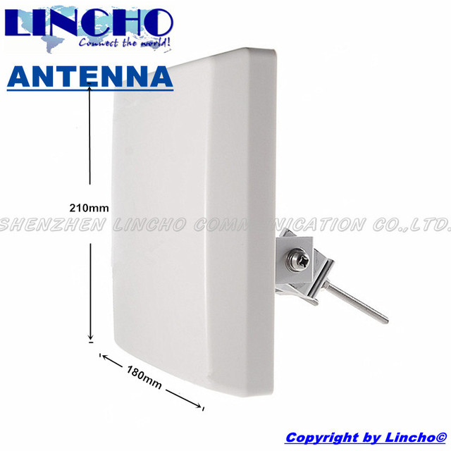 2.4ghz outdoor directional panel antenna, 2.4G wifi wlan directional antenna, 14dB antenna
