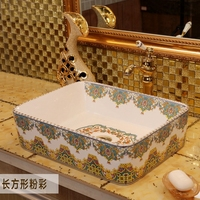 Various beautiful porcelain decoration ceramic bathroom washbasin toilet