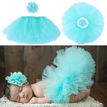 Милые аксессуары для фотосессии для новорожденных девочек; кружевная фатиновая юбка-пачка для маленьких девочек; головной убор с цветами; реквизит для фотосессии; Подарочный костюм