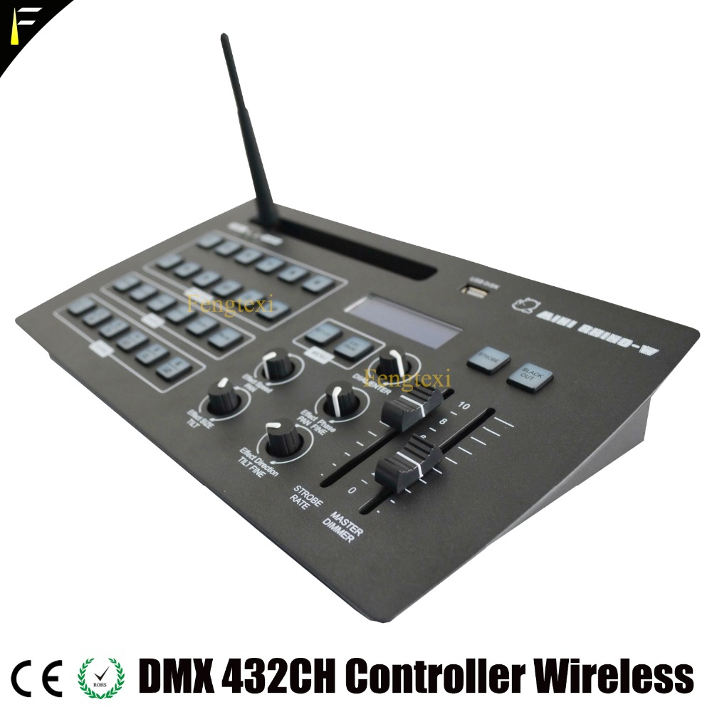 432 Channels DMX512 Light Show Build Controller 432CHS Dj Disco Stage Light Command Light Dimmer Console