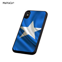 flag somalia soft silicone edge mobile phone cases for apple iPhone x 5s SE 6 6s plus 7 7plus 8 8plus XR XS MAX case