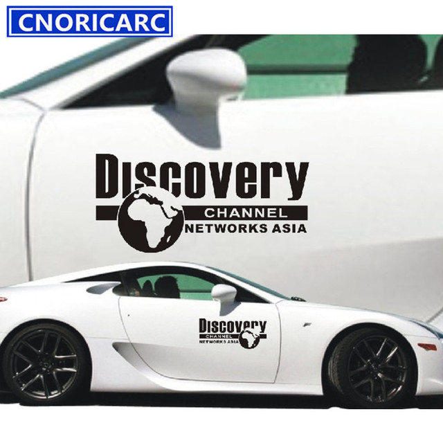 CNORICARC Cm Discovery Creative Sticker Car Body Side Door Decal - Lexus custom vinyl decals for car