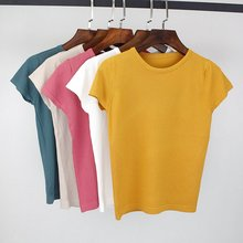 csywhs Summer casual Solid Cotton Sleeveless Vest Tank Tops t shirt Candy Color Basic