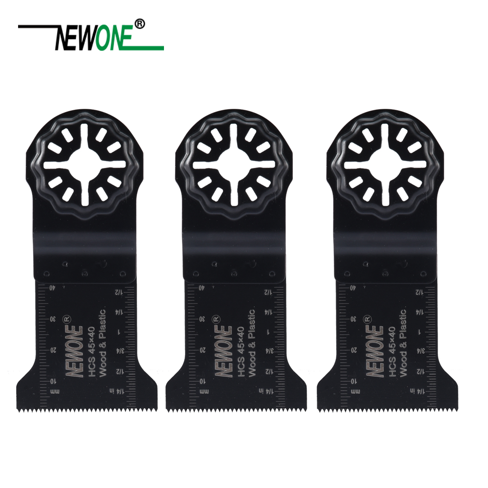 NEWONE Starlock 45*40MM HCS  Oscillating Tool Saw Blades Multi-tool Renovator Saw Blade For Cut Wood Plastic Metal Carpet Nails