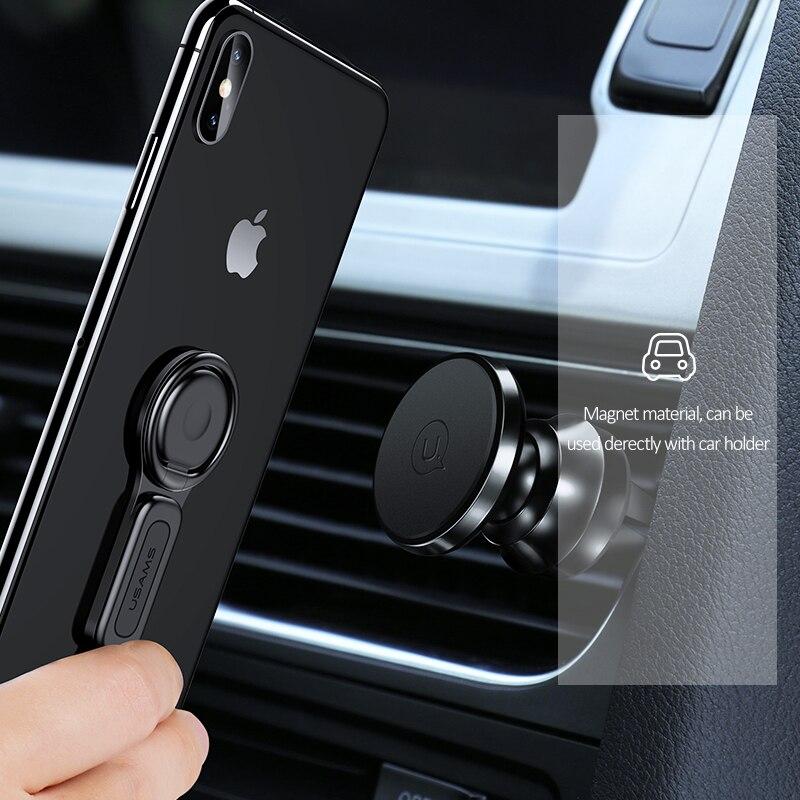 USAMS-Lightning к 3-5 мм-Audio Adapter-Ring-держатель-для-iPhone-6-X-зарядное устройство-адаптер-Fast (2)