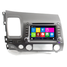 In Stock WIN CE 7″ Car DVD GPS Navigation for Honda Civic 2006 2007 2008 2009 2010 2011 Left 800MHz CPU Support 1080P Video Play