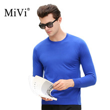 MIVI Brand New Basic Sweaters Men Fashion Autumn Winter Knitted Quality Pullover Men O-Neck Casual Men Sweater Jumpers