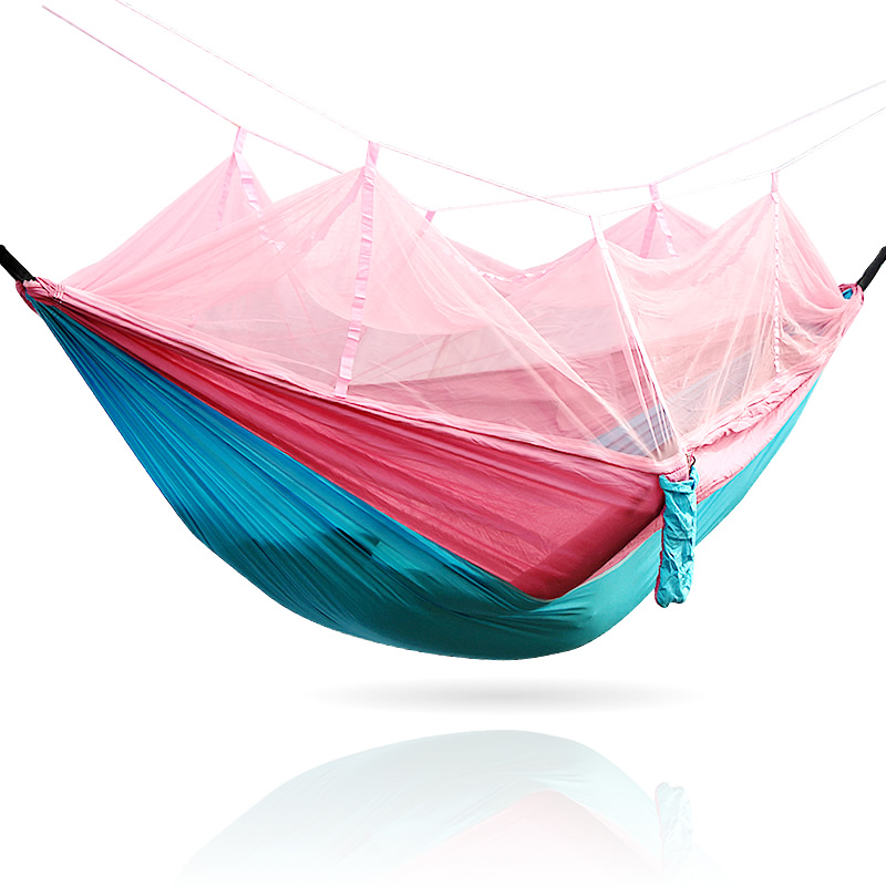Blue Pink Single Hammock mosquito net