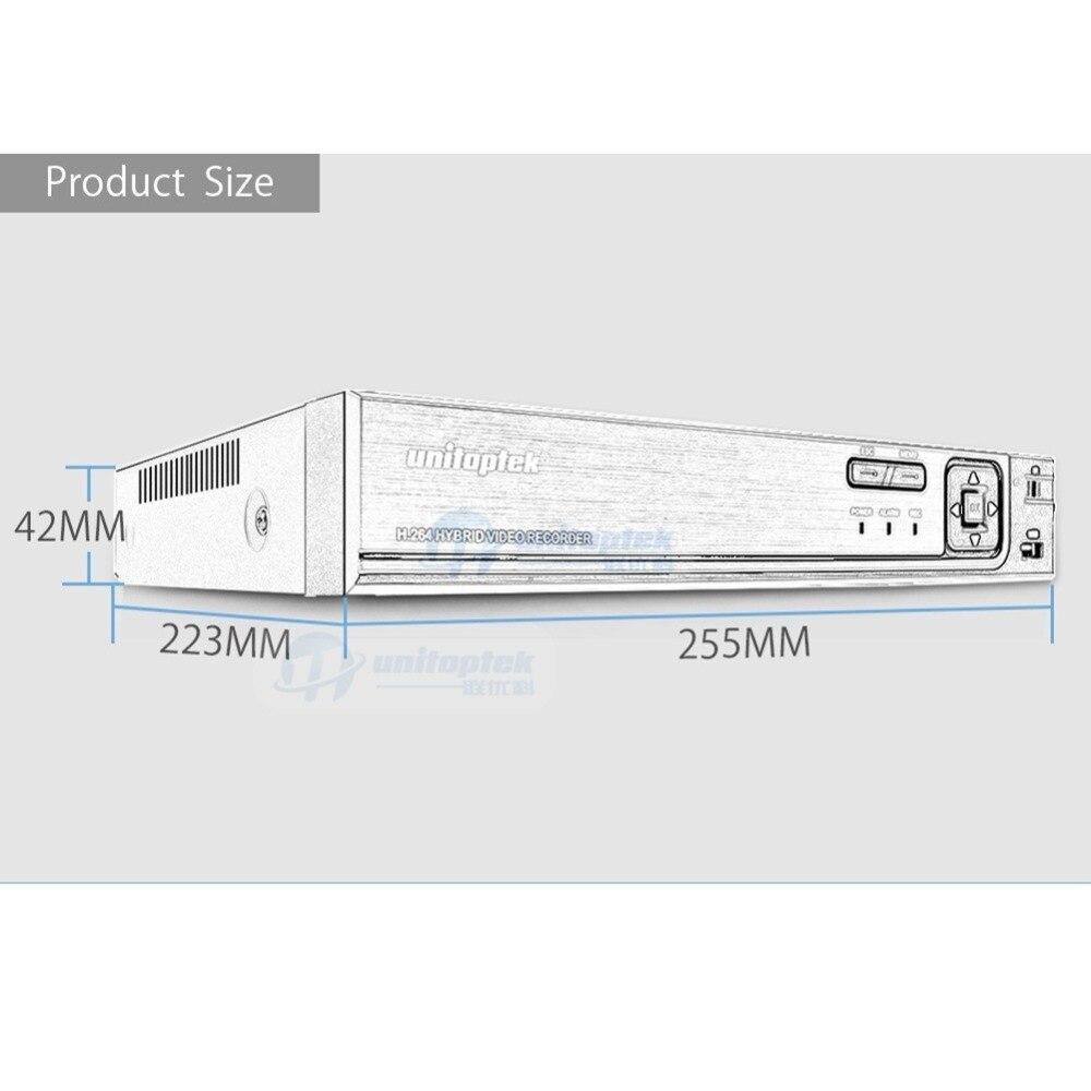 4Ch 8Ch 1080 P sécurité 3 en 1 AHD analogique IPC CCTV DVR NVR XVR enregistreur vidéo CCTV DVR RS485 contrôle coaxial P2P XMEye hybride DVR - 5