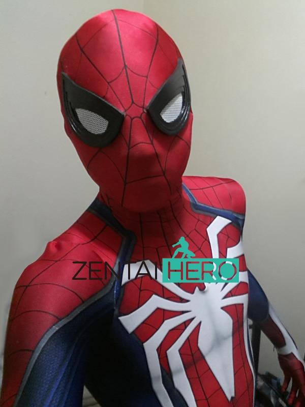 Pulsuz Göndərmə DHL NEW 3D PS4 Oyunu Spiderman Insomniac - Karnaval kostyumlar - Fotoqrafiya 5