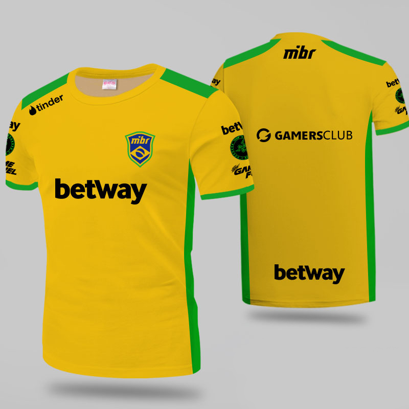 Tsingyi 2019 MIBR Jersey ZEWS Fans   T  -  shirt   Men Women   T     shirts   Major Custom ID Tee   Shirt   Homme