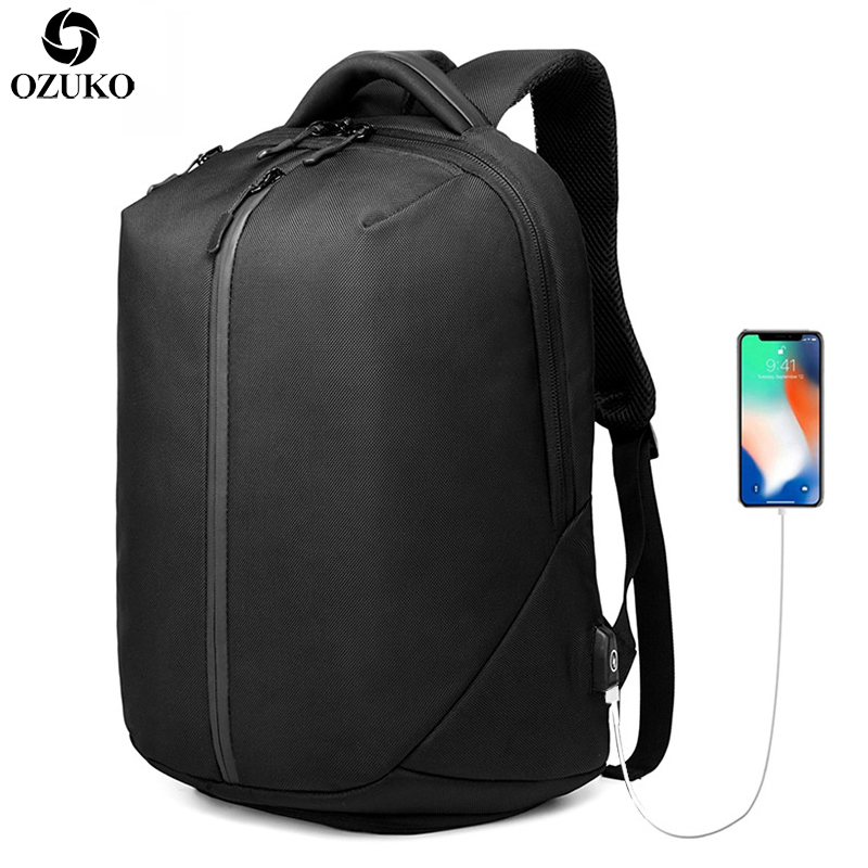 все цены на New Multifunction USB Charging Men Backpack For Teenager Fashion Male Mochila 15.6