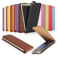 Vertical Flip Genuine Leather Case For Samsung Galaxy S3 Mini I8190 With 10 Colors