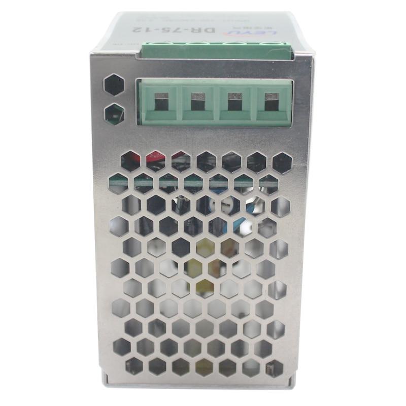 Сертификация ce и rohs DR-75-12 DIN рейка серии один выход PSU выход 12v Светодиодный импульсный источник питания