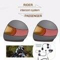 (1 conjunto) Boa Notícia!!! para fone de Ouvido do Capacete Da Motocicleta Do Bluetooth Interfone Interfone Falar Passageiro Pillon Marca TCOM-02S