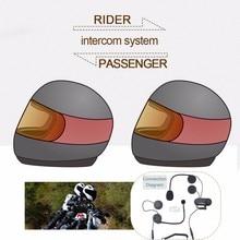 (1set) Good News!!! To Intercom Talking Pillon Passenger Motorcycle Bluetooth Intercom Helmet Headset Brand TCOM-02S