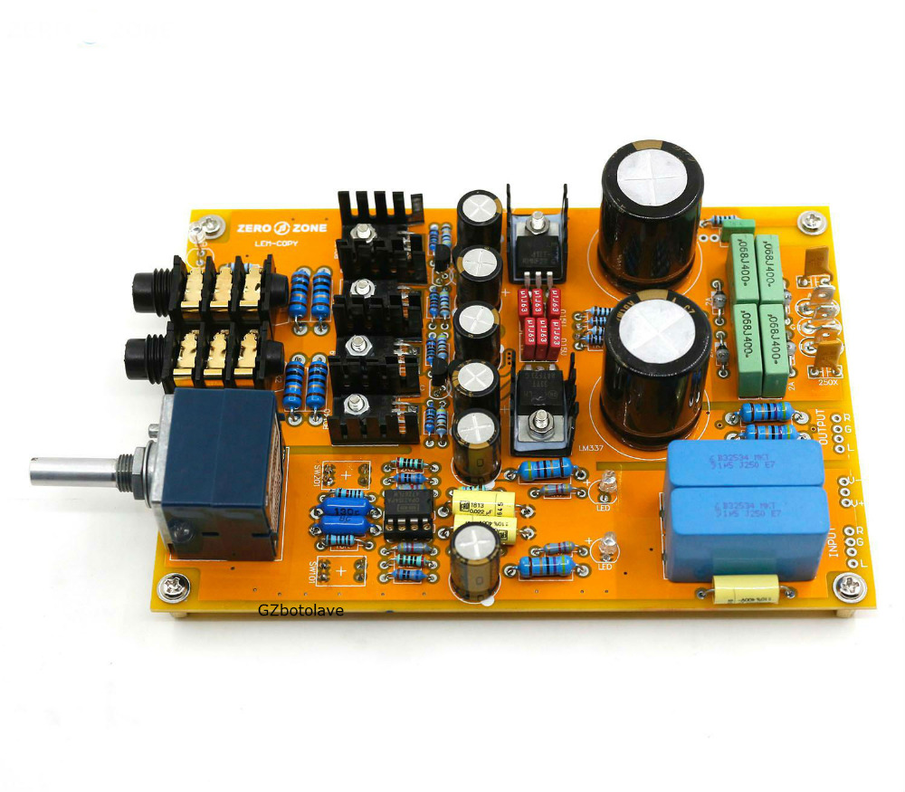 Free ship Assembled standard version LEM-Copy Class A amplifier clone Lehmann amp finished board image
