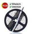 RGB LED Stirp Light 5M 60LED/m LED Flexible Light Lamp SMD3528 DC 12V High Bright LED Tape Lamp Bombillas LED Christmas Lamps