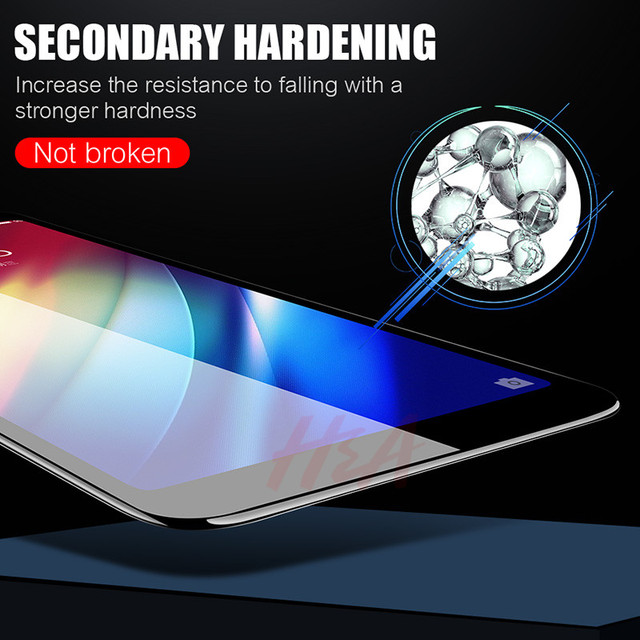 H&A 9D Tempered Glass For Samsung Galaxy J4 Plus J6 J8 A6 A8 A7 2018 Screen Protector A5 A3 A7 2017 Protective Glass Film 3