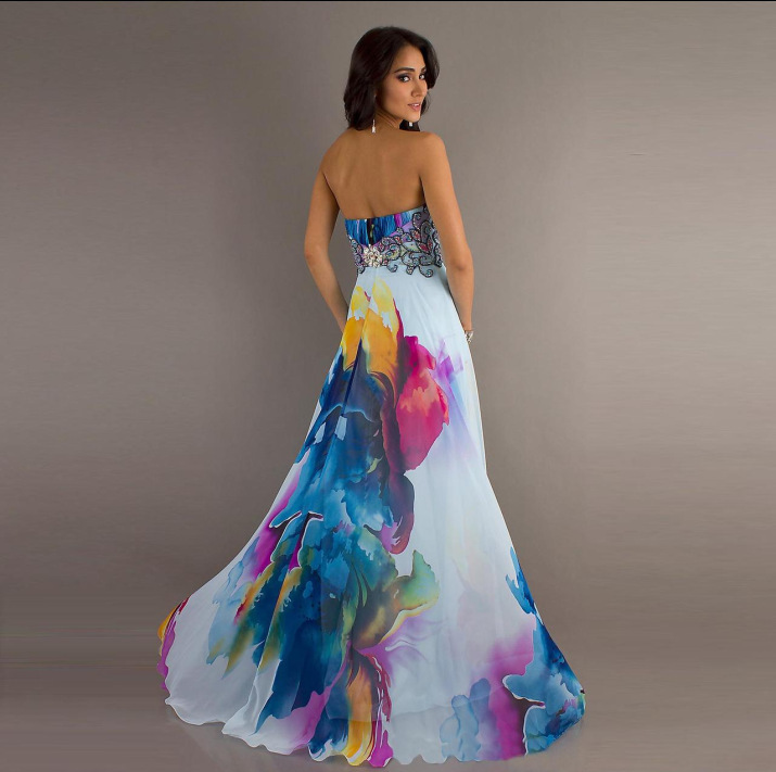 Chic Sleeveless Floral Print Maxi Dress