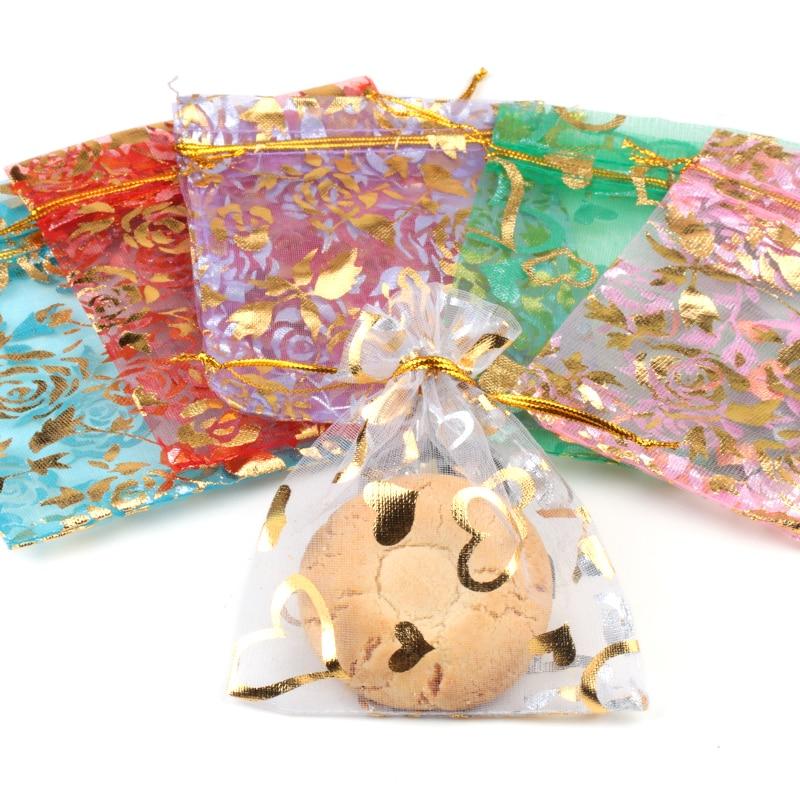 Organza Beutel Verpackung Beutel Hochzeitsgeschenk Beutel 100pcs / - Partyartikel und Dekoration