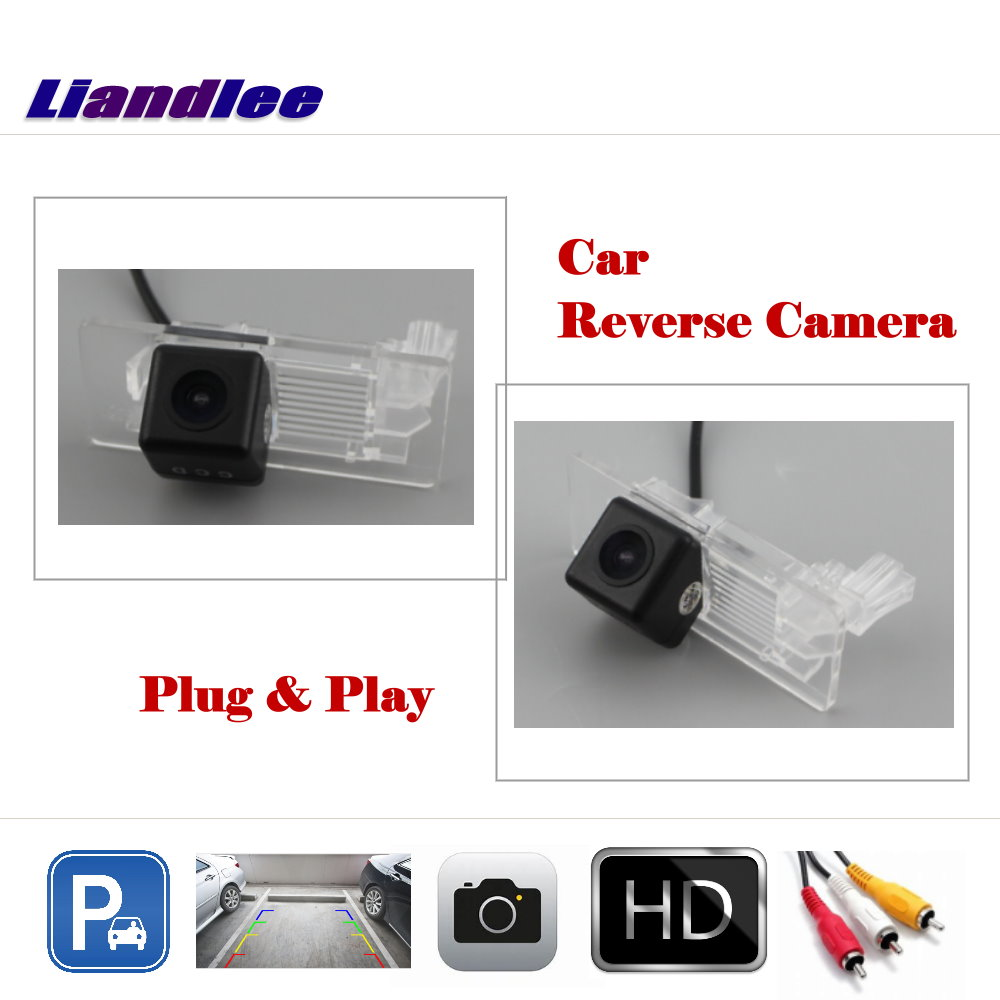 Liandlee Auto Reverse Parking Camera For Volkswagen Passat B8 2015 2018 Rear Rearview Camera Back Work with Car Factory Screen in Vehicle Camera from Automobiles Motorcycles