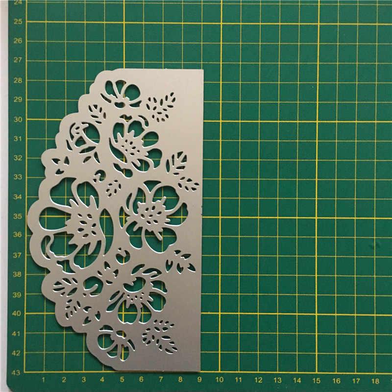 Troqueles de corte de Metal de encaje calado cosido DIY sellos de Scrapbooking artesanía grabado troquelado hacer Plantilla de plantilla nuevo 2019