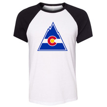 d5a3d538766e Colorado Flag C Nature Mountains Customized Men Cotton Short Sleeve T-shirt  Lover Gifts for Boy Fans Meeting Cosplay Clothing