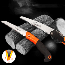 1Pcs Manganese Steel Saw High Strength Wear Resistant Foldable Woodworking Hand Two Angle Fast Sawing Tool