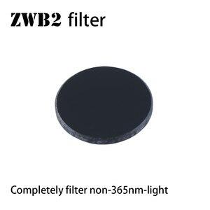 Image 1 - ZWB2 مرشح للأشعة فوق البنفسجية 36nm ضوء ، 20.5 مللي متر قطرها ، 2 مللي متر سمك