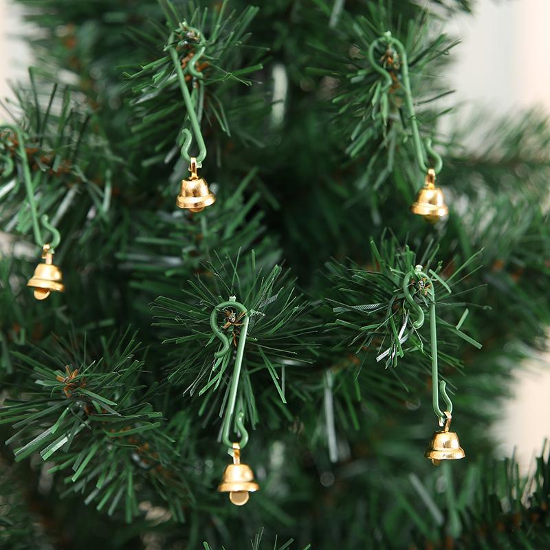 20Pcs Christmas Mini Bells Christmas Decorations for Home Decoracion Navidad Christmas Tree Decorations Christmas Ornament. Q 11